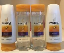 4 Pantene Pro-V  Fine Hair Solutions, Volume Shampoo/ Conditioner 12.6 oz Each