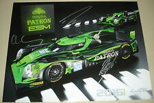 Le Mans WEC 2016 Silverstone ESM Extreme Speed Motorsport Ligier Signed Card