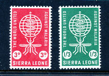 Mint Never Hinged/MNH Sierra Leonean Stamps