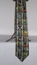VINTAGE LOONEY TUNES NECK TIE BY LTL 100% POLYESTER   57 INCH DAFFY BUGS TWEETY