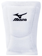 """New listing NEW Mizuno LR6 Volleyball Knee pads 6 3/4"""" Size M White 15827 Free Shipping"""