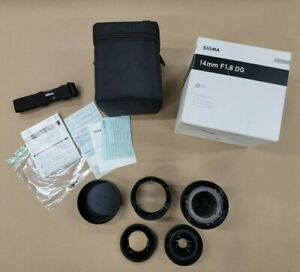 Sigma Art 14mm F/1.8 DG HSM  Nikon PARTS ONLY NOT A WORKING LENS sold as is