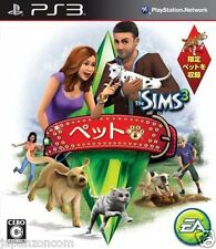 Used PS3  The Sims 3: Pets  SONY PLAYSTATION 3 JAPAN JAPANESE IMPORT