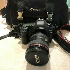 Canon EOS 5D Mark II 21.1MP Digital DSLR Camera with LENS 24-105MM bag Bundle