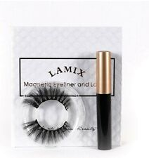 Lamix Magnetic Eyeliner with Magnetic Eyelashes Kit No Glue False Lashes