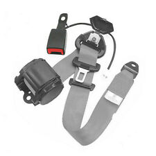 47 mm 3 Point Retractable Car Safety Seat Belts Lap Heavy-Duty Nylon Straps Usa