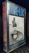 Tone Loc - Loc-ed After Dark Hip Hop Rap Cassette Tape 1989 delicious vinyl