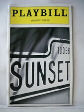 SUNSET BLVD Playbill ELAINE PAIGE / ALAN CAMPBELL / ALICE RIPLEY NYC 1996