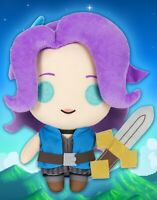 """Official Stardew Valley Abigail 10"""" Plush Figure + Collector's Card"""
