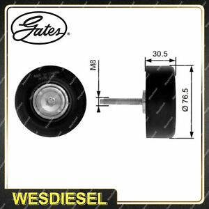 Gates DriveAlign Guide Idler Pulley fits Ford Escape ZB 2.3L 108kW 01/04-05/06