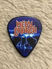 "Metal Church ""Kurdt Vanderhoof"" 2018 Official Tour Guitar Pick"