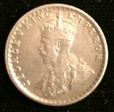 George V silver quarter rupee 1936 Calcutta - close to uncirculated - from USA