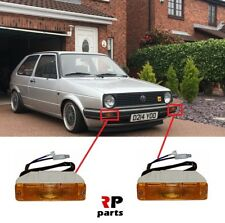 FOR VW GOLF MK2 83-89 NEW FRONT BUMPER SIDE INDICATOR RIGHT&LEFT 2X PAIR SET