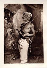 "Intense 1800s G L SEYMOUR Antique Print ""Warrior of the Desert"" SIGNED COA"