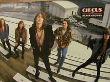The Black Crowes, Vince Neil, Motley Crue, Double Full Page Pinup