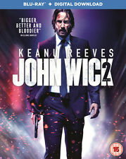John Wick Chapter 2 Blu-ray Digital Download 2017 Region