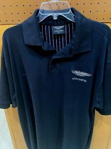 Aston Martin Polo Shirt XL  Black