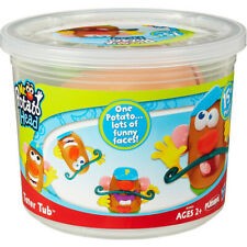 Playskool Mr. Potato Head Tater Tub Set Parts and Pieces Container Ages 2+