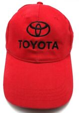 TOYOTA : Western Washington Dealers red adjustable cap / hat