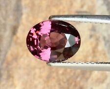 Natural 1/Piece VVS 1.95 ct.9.2x7.2x4.3 mm. Oval Pink,purple Spinel, MOGOK.