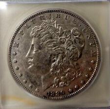 1889-CC Carson City Mint Silver Morgan Dollar IGC AU-53 Details-High Grade