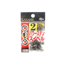 210-A Power Stain Swivel Smooth Spin Black Size 2 (0884) Sasame