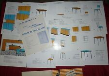 N°4350 /  prospectus Ets DONDANA meubles de cuisine design 1964
