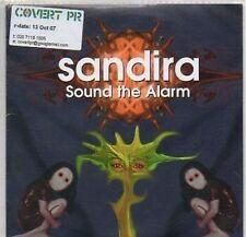 (127B) Sandira, Sound the Alarm - DJ CD