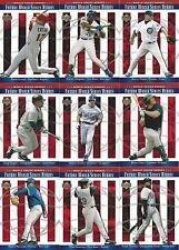 2002 UPPER DECK WOLRD SERIES BASEBALL HEROES SP 9 - CARDS ERSTAD - WOOD - GREEN+