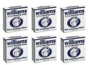 Williams Mug Shaving Soap - 1.7 Oz (Pack Of 12 Soaps)