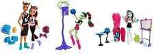 Monster High Sports Winning Werewolves Clawd Wolf & Clawdeen Venus Frankie Stein