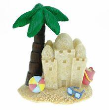 Spardose Insel mit Sandburg 12 cm Reisekasse Urlaubskasse Urlaub Sparschwein