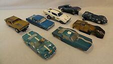 LOOK! BIG 1960`S COX, STROMBECKER, REVELL, MONOGRAM, ETC. 1/32 SLOT CAR JUNKYARD