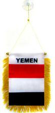 """Venta al por mayor Lote de 12 Mini Bandera Bandera De Ventana 4""""x6"""" Yemen con ventosa"""