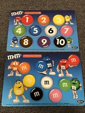 M&M'S CHILDRENS LEARNING TOY COLORS & NUMBERS ROSE ART