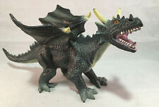 "Toy Major Trading Fantasy Beast Fire Drake Dragon Soft Rubber Figure 15"" Long"