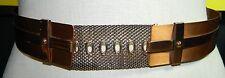 VTG Matisse RENOIR Copper Metal Belt Size M - B