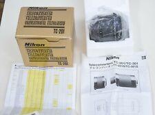 Nikon TC 201 2x Teleconverter Mint in box