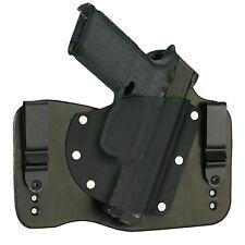 FoxX Leather & Kydex IWB Hybrid Holster Beretta (Pick Your Gun) Black Right Tuck