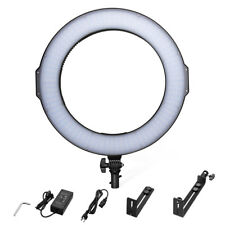Powerextra 14 Inches Bi-Color Led Smd Ring Light Adjustable Color Temperature