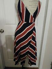 TOPSHOP Stripe Wrap Dress  US 4, NWT