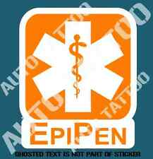 EPI PEN DECAL STICKER COMMERCIAL OFFICE VEHICLE OH&S WARNING DECALS STKCERS
