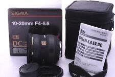 Nikon AF-S fit Sigma 10-20mm DC EX AF Zoom Lens Built in Motor UPDATED VERSION