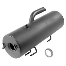 CALTRIC BLACK EXHAUST MUFFLER SILENCER and KIT Fits POLARIS SPORTSMAN 500 4X4 HO 2001-2013