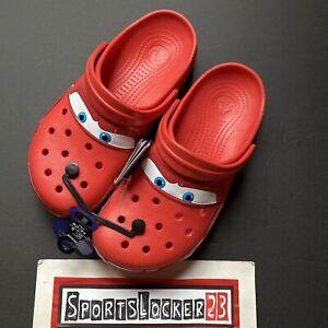 Crocs x Cars - Lightning McQueen ⚡️Men's Size 8 Womens Size 10 NEW - IN HAND  ⚡️