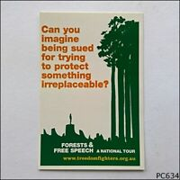 Avant Card #9920 Friends of Forests & Free Speech 2005 Postcard (P634)