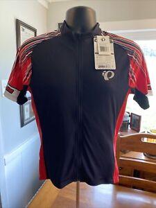 PEARL IZUMI Podium Elite Bike Jersey MEN'S MEDIUM 41121705 Black Red NWT New