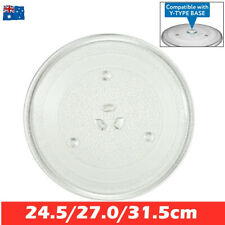 Microwave Oven Platter Turntable Glass Tray Food Glass Plate Dia 245/270/315mm