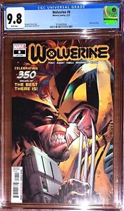 Wolverine #8 CGC 9.8