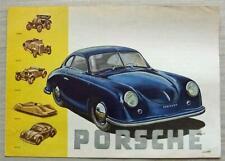 PORSCHE 1900-1945 Car Publicity Brochure 1945 English Text
